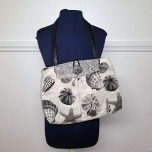 Hand Crafted Shell Print Bag